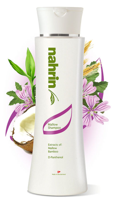 Nahrin Mallow Herbal Shampoo