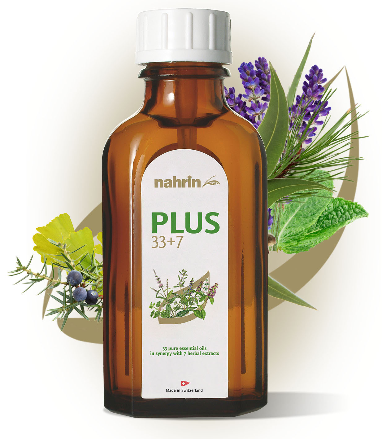Nahrin Herbal Oil PLUS 33+7 - 50ml