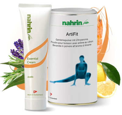 Nahrin Artifit Cream and Powdered drink